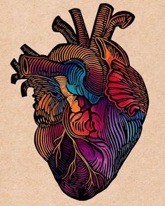 Linocut by Los Milagritos Kunst Inspo, Art Inspo, Art And Illustration, Sketch Manga, Poses References, Medical Art, Anatomy Art, Human Anatomy, Wow Art
