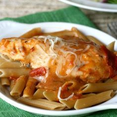 Creamy Tomato Slow Cooker Chicken