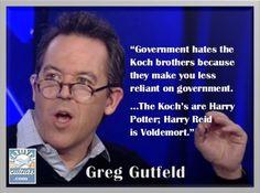 Greg Gutfeld ~ KochBrothers