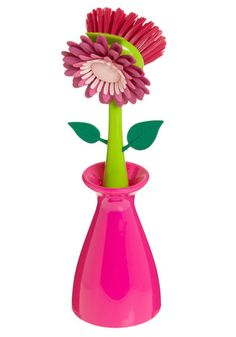 What a nice little pick-me-up when you are doing the dishes.    Bloom for Improvement Kitchen Brush, #ModCloth