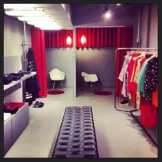 Dress room #519verona #verona #red #color #design  #like #followmeto #brands