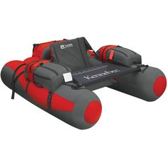 Talk about a professional tuber - Classic Accessories Kennebec Float Tube