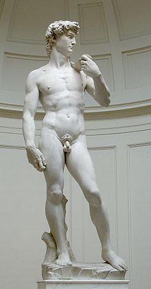 """David"" by Michelangelo"