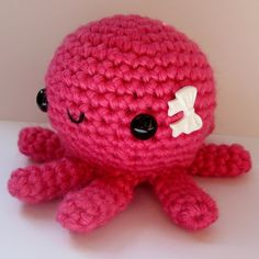 Amigurumi Baby Octopus by anapaulaoli on Etsy, $20.00