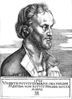 Bildnis des Philip Melanchton, 1526