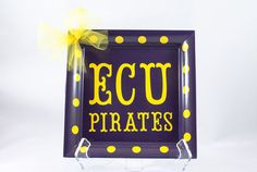 ECU Pirates decorative plate on Etsy, $10.00