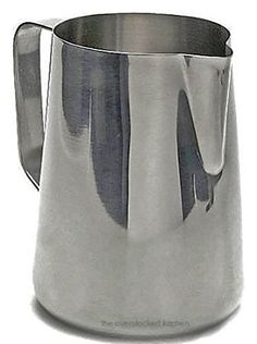 33 oz Espresso Coffee Milk Frothing Pitcher Stainless Steel 1810 Gauge  Set of 3 ** Want additional info? Click on the image.