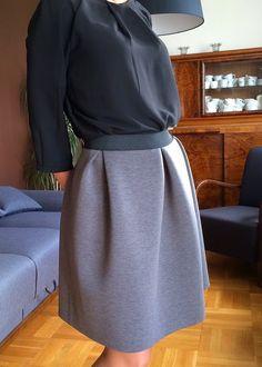 By Mondfee: Piankowa spódnica z zakładkami-tutorial