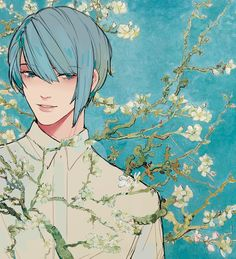 blossoming almond tree 02 by VictoriaSty on DeviantArt
