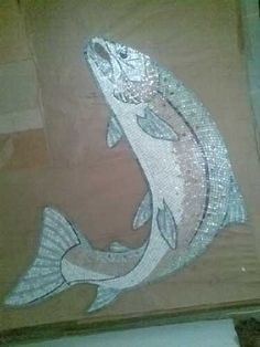 Salmon Mosaic Stage 3
