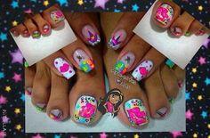 Palm Beach Sandals, Flip Flops, Nail Art, Nails, Women, Ideas, Polish Nails, Feet Nails, Fingernail Designs