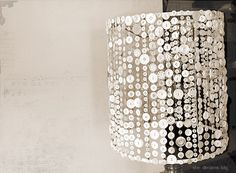 button lamp shade.  Hmmmmm