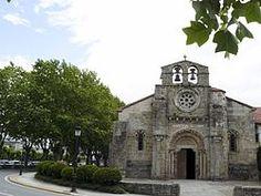 Iglesia de Santa María de Cambre - Wikipedia, la enciclopedia libre Iglesias, San Francisco Ferry, North West, Building, Travel, Saints, Santa Maria, Santiago De Compostela, Norte
