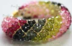 Beginner Right Angle Weave Bracelet | AllFreeJewelryMaking.com