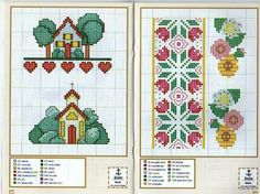 Idee 18; free cross stitch patterns mini