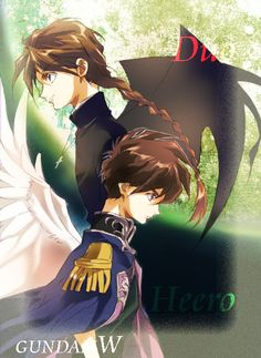 Heero Yuy and Duo Maxwell from Gundam Wing. Here's some old school! I Love Anime, Me Me Me Anime, Anime Guys, Duo Maxwell, Heero Yuy, Science Fiction, Male Character, Disney Pictures, Disney Pics