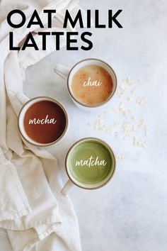 How To Make An Oat Milk Latte [ 3 ways ] - The Healthy Maven