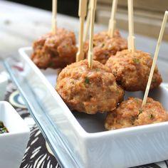 4-Step Teriyaki Turkey Meatballs - Predominantly Paleo