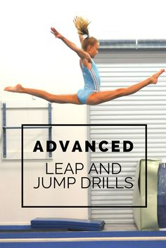 Advanced leap and jump drills