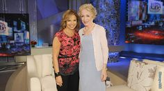 Holland Taylor guest of the Katie Couric show 6-7-13