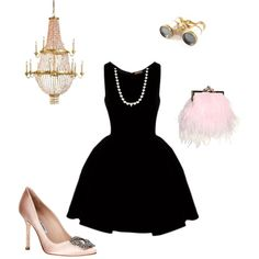 """Night at the opera"" by preppinkpearls on Polyvore"