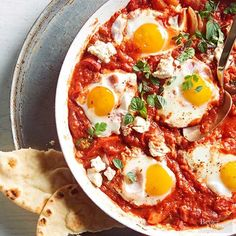 Each and every recipe featured in BHG, including this delicious brunch party-ready shakshuka (tomato sauce-poached eggs) and the rest of our September 2016 dishes, are given a full trial and tasting in the BHG Test Kitchen before being printed. Rest assured that these meals are true crowd-pleasers--and totally doable at home!