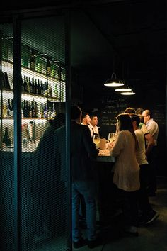 "Le Tachinomi Desu is a wine bar with standing room only (""Tachinomi"" means ""standing bar"" in Japanese)."