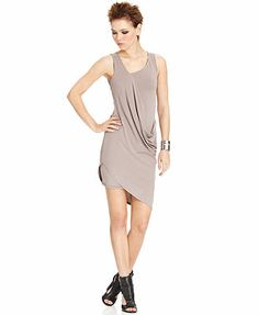 Bar III Draped Dress  Only@Macys  Web ID: 1150599