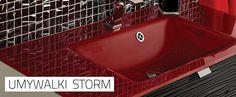 Umywalki Storm - niesamowite umywalki Glasspoint