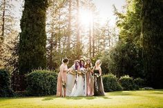 """Empire Mine Wedding, Grass Valley, Emily + David's beautiful early summer #wedding at Empire Mine State Park in Grass Valley is featured on Love & Lavender today! """"Pastel Wedding at Empire Mine State Park""""  @lclindley 