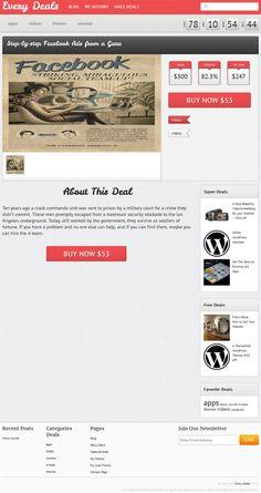 Every Deals Tokokoo Premium WordPress Theme
