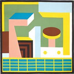 silk twill scarf, hand-rolled x 90 cm) Nathalie Du Pasquier, Hermes Online, Greek Art, Hand Roll, Collage, Stained Glass, Silk, Art, Collages