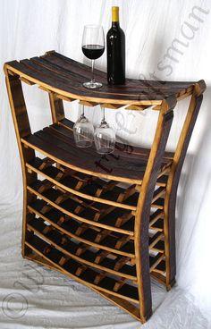 WINE RACK Chianti Large Concave Wine door winecountrycraftsman
