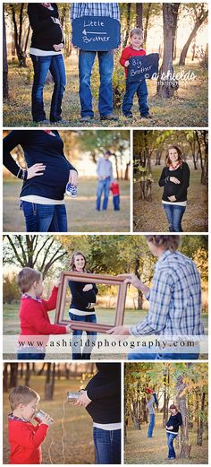 Fall Maternity Session | Big Brother Little Brother | Family of 3 | Maternity session with sibling | Canyon TX | Photos by A Shields Photography