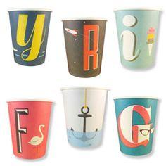 A-Z Paper cups