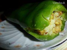 Plnená paprika s ryžou a šošovicou