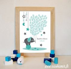 Fingerprint tree for baptism or baby shower, perfect to a personalized gift / Thumbprint art / Guestbook girl / Printable file Idee Baby Shower, Baby Boy Shower, Baby Showers, Twin Baby Rooms, Theme Bapteme, Fingerprint Tree, Baptism Gifts, Tree Print, Baby Birthday