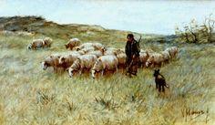 Anton Mauve - Herder met zijn kudde