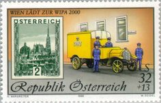 Stamp Exhibition WIPA 2000