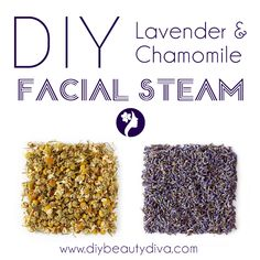 Luxurious herbal facial steam this soothing lavender chamomile steam uses two fragrant herbs packed with essential oils solutioingenieria Choice Image
