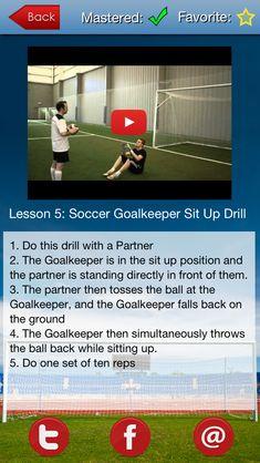 8 best soccer goalkeeper mastery soccer goalkeeper training soccer goalkeeper mastery iphone ipad app httpsitunesle fandeluxe Images
