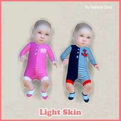 Skins of Baby Set 5 at Nathalia Sims • Sims 4 Updates