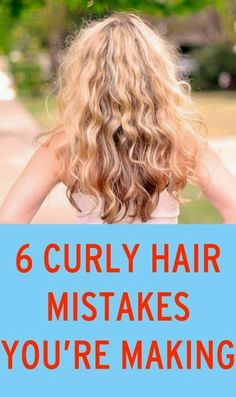 Diy Projects: 6 Curly Hair Mistakes You May Be Making