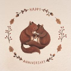 Nina Stajner is the artist behind the absolutely adorable animal illustrations below. To create her pieces she uses traditional media's such as; watercolours,