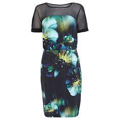 Buy Coast Romy Print Jersey Dress, Multi Online at johnlewis.com