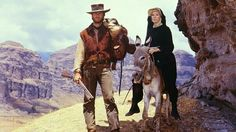 """Clint Eastwood, Shirley MacLaine in """"Two Mules For Sister Sarah"""" (1970)"""