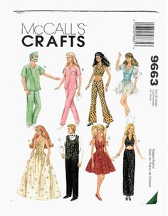 Free Copy of Pattern - McCalls 9663