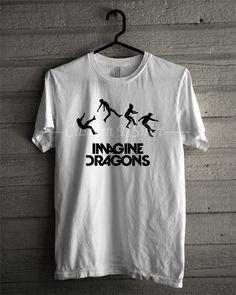 Imagine Dragons tshirt -tri1 Unisex T- Shirt For Man And Woman / T-Shirt / Custom T-Shirt