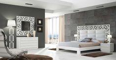 Cabeceros de madera tapizados modelo BYRON. Decoración Beltrán, tu tienda online en cabeceros tapizados.