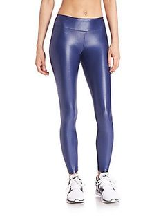 Latex leggings herren